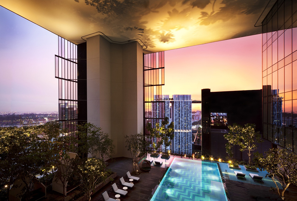 Oasia Hotel Downtown by WOHA