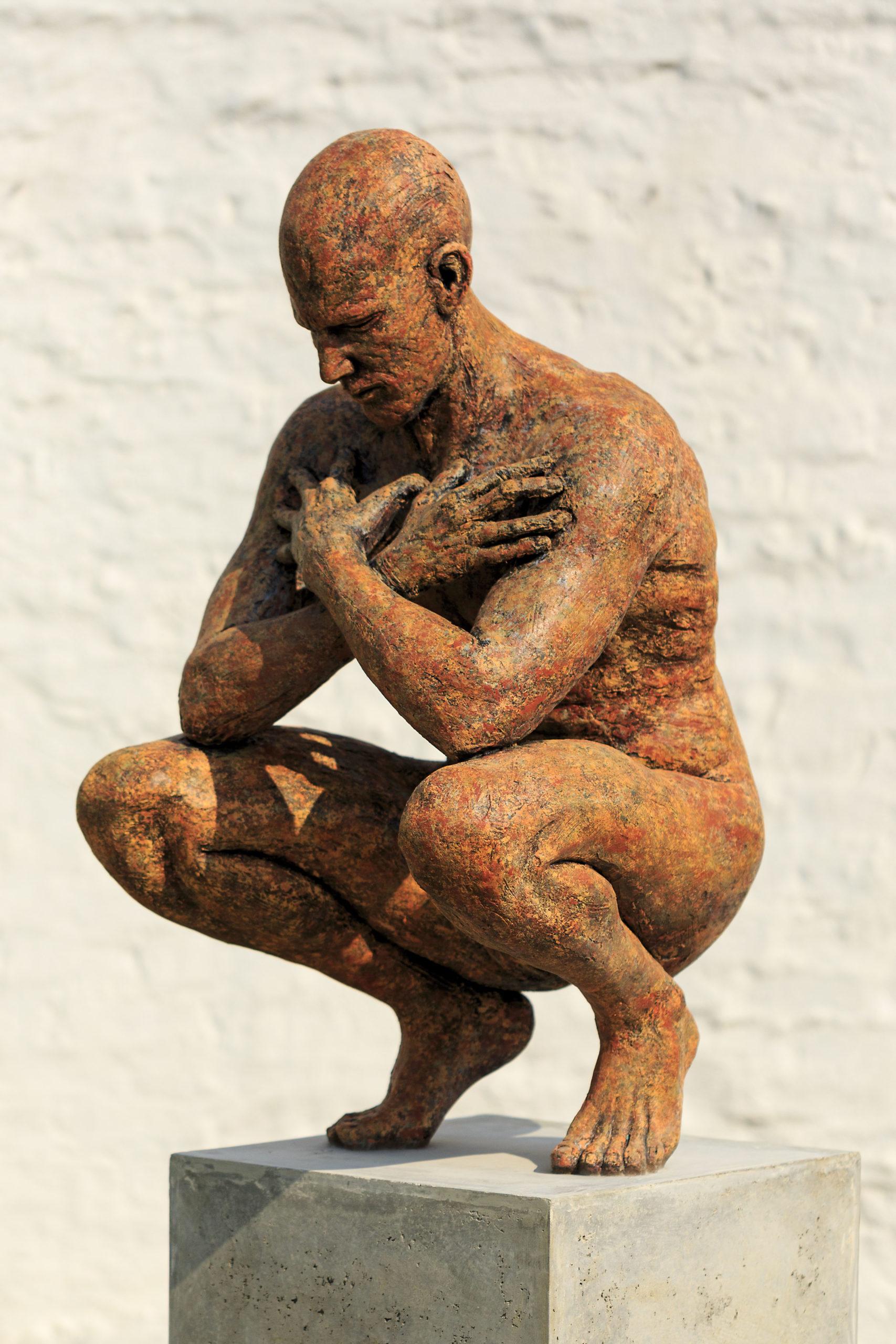 Anton Smit 'Crouching Man'