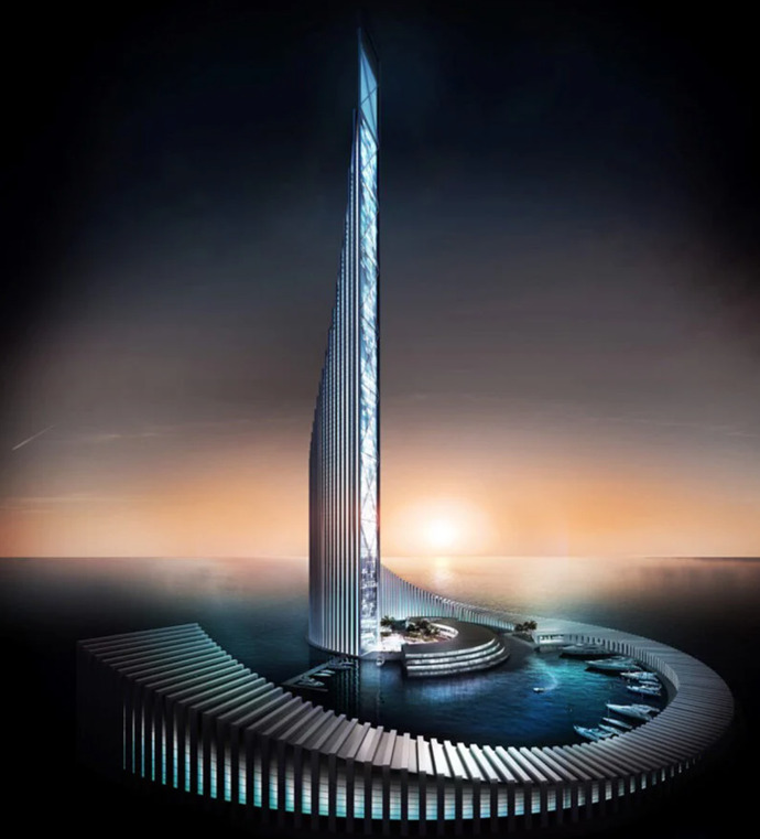 Plans for Zanzibar's Domino Tower has been revealed to potentially be Africa's second tallest building developed by Dubia-based firm xCassia.