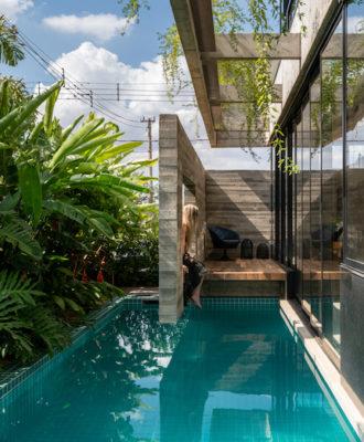 GARTEN house by Caio Persighini Arquitetura